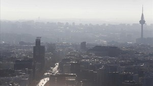 Contaminación en Madrid.
