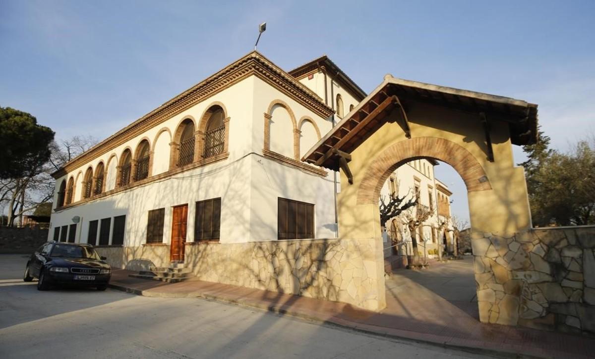 Centro de menores Els Castanyers, en Palau de Plegamans