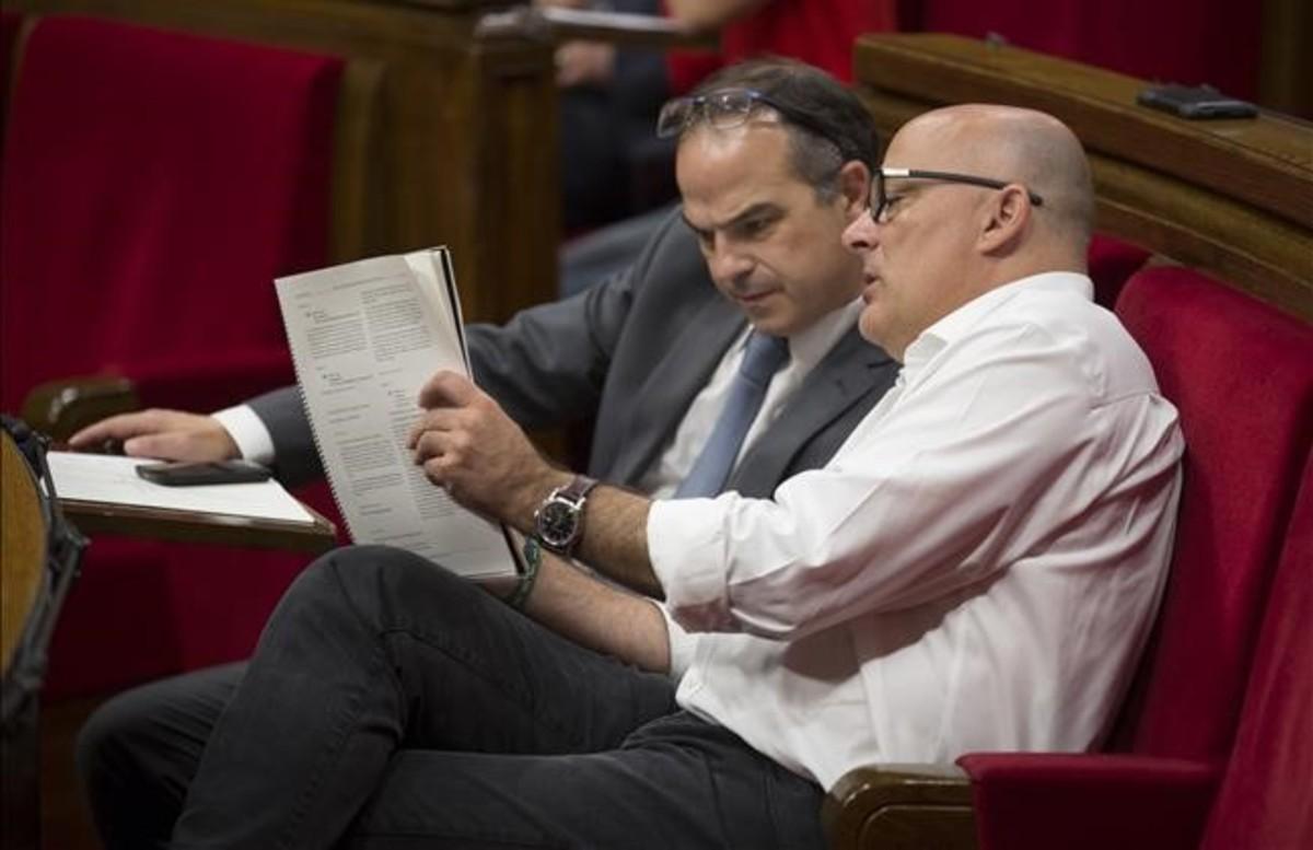 Lluís Corominas sustituye a Jordi Turull al frente de Junts pel Sí