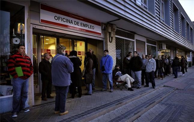 Las repercusiones de la ca da de lehman for Oficina de empleo azca madrid