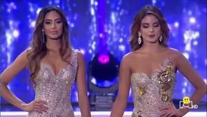 El enfado de Vanessa Domínguez en la final de Miss Colombia.