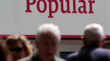 L'IRPF, únic consol per als accionistes del Popular