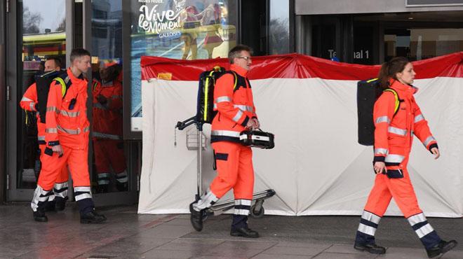 Les autoritats alemanys evacuen l'aeroport d'Hamburg després de detectar-hi una substància tòxica