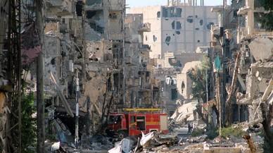 Almenys 42 civils moren en un bombardeig contra una presó de l'Estat Islàmic a Síria