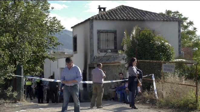 Cinc membres d'una mateixa família moren en un incendi a Jaén