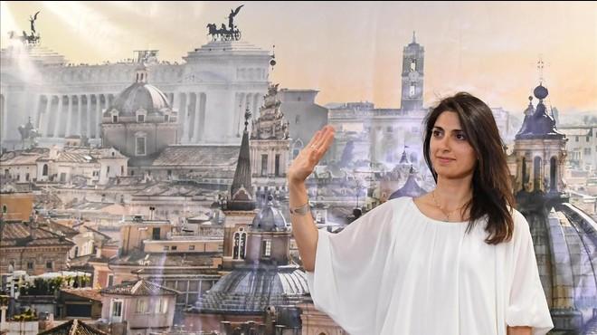 La nueva alcaldesa de Roma, Virginia Raggi.