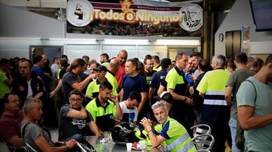 Los estibadores convocan ocho jornadas más de huelga