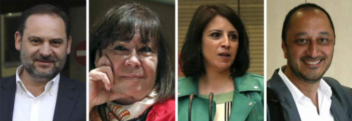 Les noves cares del PSOE de Pedro Sánchez