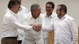 Santos i les FARC es donen sis mesos per aconseguir la pau definitiva