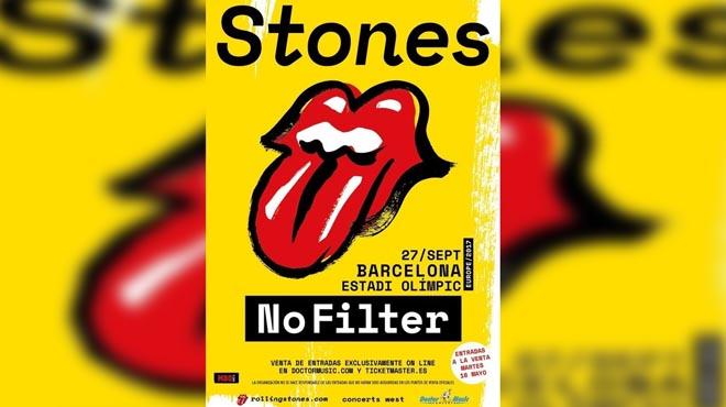 The Rolling Stones actuarà a Barcelona el 27 de setembre
