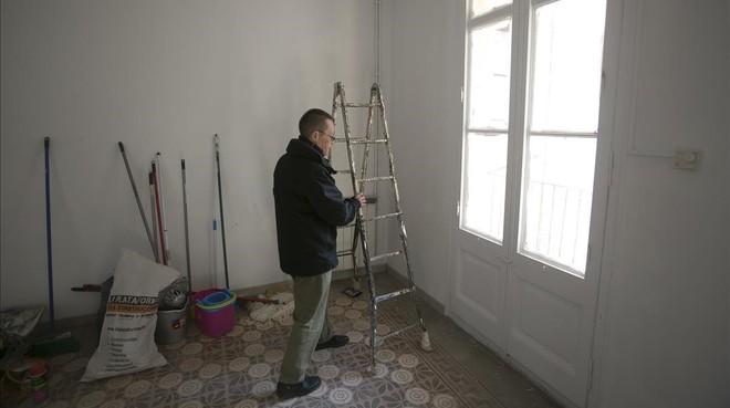Una de las viviendas que se ha beneficiado de las ayudas para la rehabilitación.
