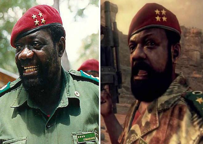 V�deojuego en el que aparece el l�der insurgente angole�o Savimbi.