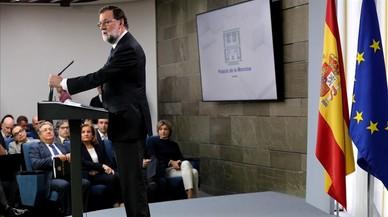 Rajoy es tanca en banda a frenar el 155 amb unes eleccions