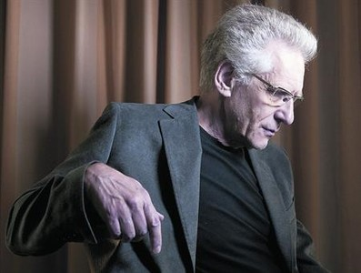 David Cronenberg, en una imagen promocional de su película para el festival de Toronto, en septiembre.