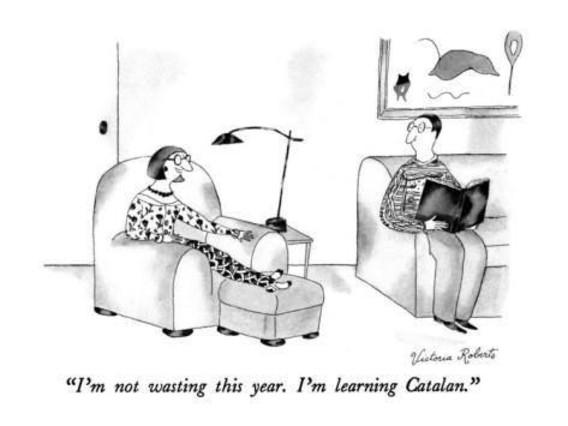 La vinyeta de Victoria Roberts el 1991 a The New Yorker .