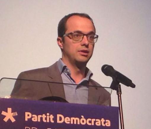 Alfons Canela, presidente del PDEcat en Mataró.