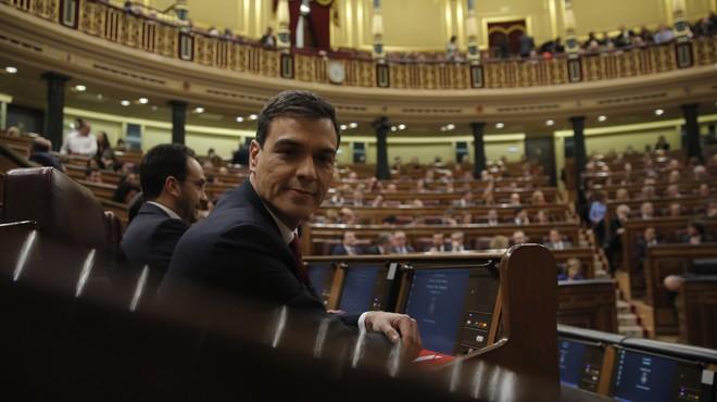 Pedro Sánchez opta a la investidura: en directe