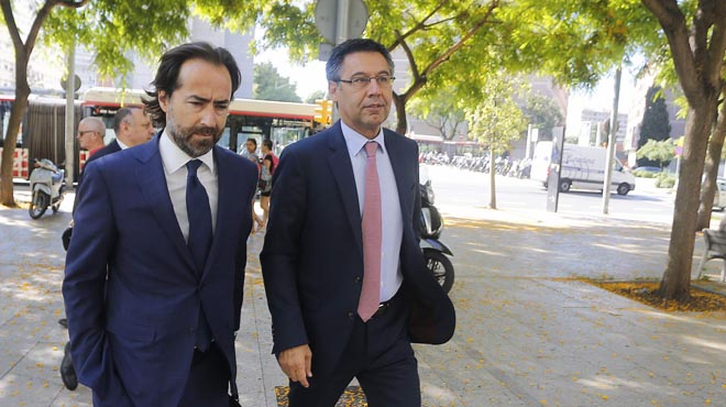 El Barça denuncia que un empresari el va amenaçar amb una querella si no pagava tres milions d'euros