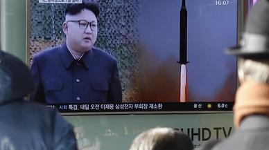 Corea del Norte pone a prueba a Trump y lanza un misil balístico al mar de Japón