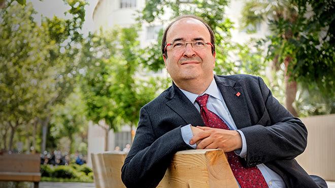 El primer secretario del PSC, Miquel Iceta, repasa la actualidad política.