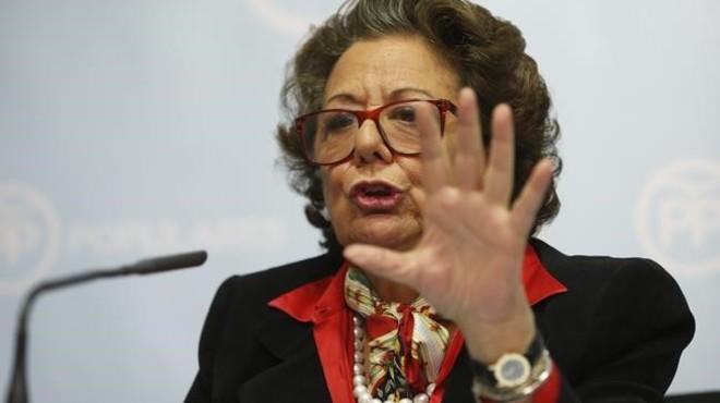 Rita Barberá nega davant el PP haver blanquejat diners