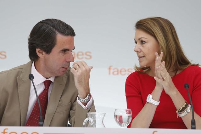 Aznar inaugura el campus de verano de la FAES sin pronunciar su discurso