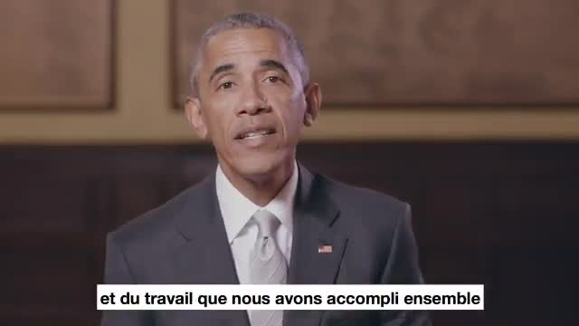 Obama apoya a Macron