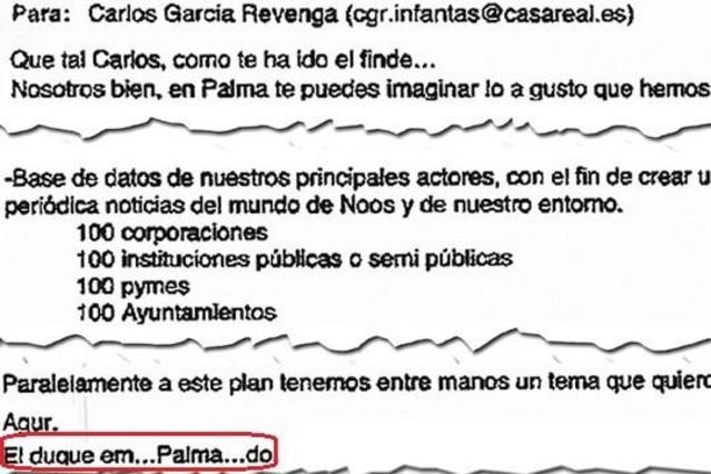 "Twitter alucina con la firma de ""em...Palma...do"" de Urdangarin"