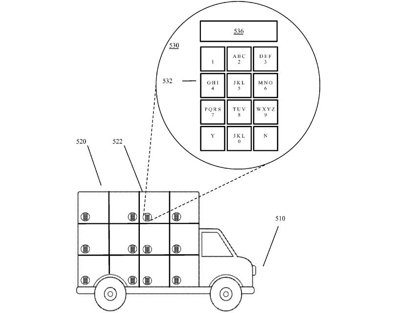 Google patenta entregar paquetes en camiones sin conductor