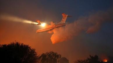 El foc ha arrasat aquest any un 22% menys d'hectàrees que el 2015 a Espanya