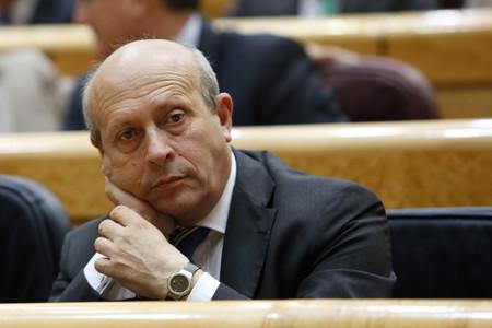 Imagen de archivo del exministro de Educaci�n, Jos� Ignacio Wert, en el Senado.