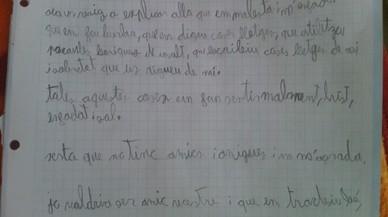 """Carta d'un nen de 9 anys víctima d'assetjament homòfob: """"Voldria ser el vostre amic"""""""