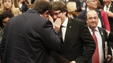 El motín que diluyó la declaración de independencia de Puigdemont