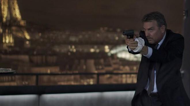 Kevin Costner lidera con '3 días para matar'
