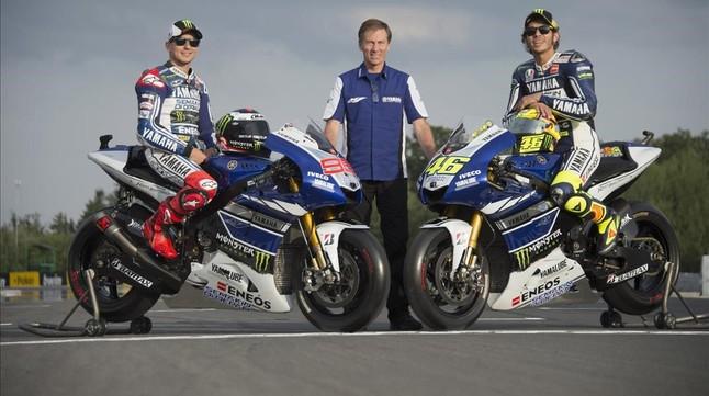 Rossi ultima su renovaci�n por dos a�os con Yamaha