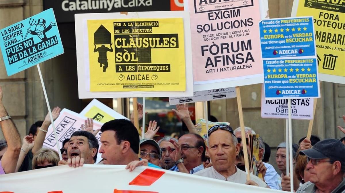 La UE afirma que Espa�a limita la acci�n judicial contra las hipotecas abusivas
