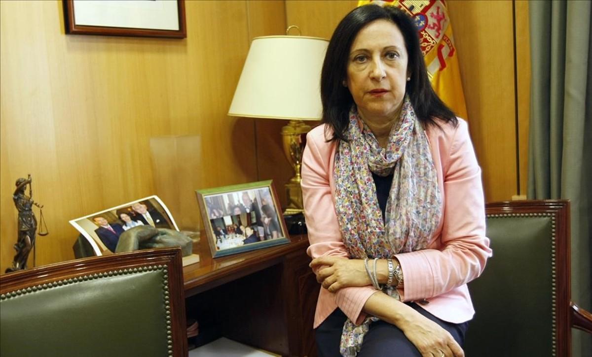Margarita Robles será la portavoz del PSOE en el Congreso