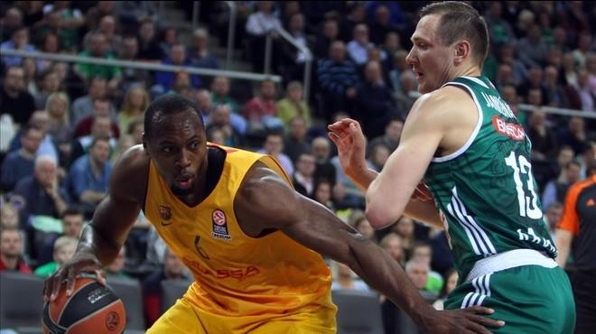 Dorsey i Ribas classifiquen el Barça a Kaunas