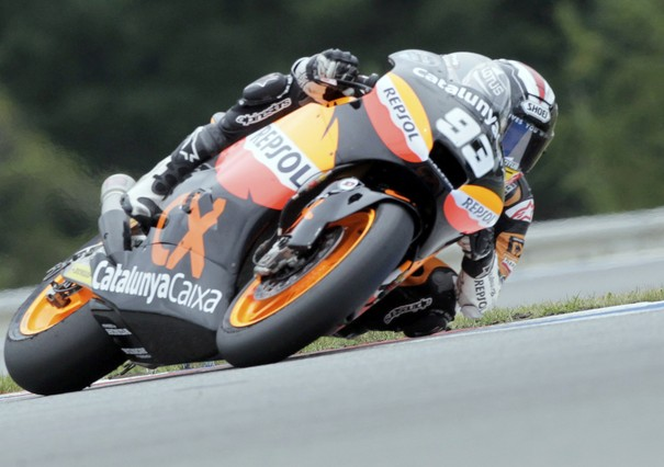 Nueva demostraci�n de M�rquez en Moto2