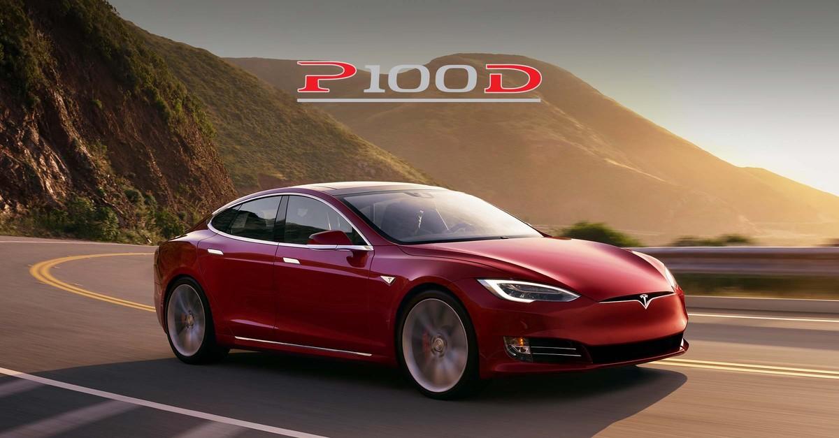 El Model S P100D de Tesla.