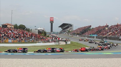 Montmelo, circuito de Catalunya.