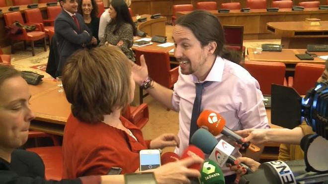 Encontronazo entre Iglesias y Villalobos por el Banco de España