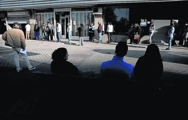 Un tercio de los parados del euro est en espa a - Oficinas santa lucia madrid ...