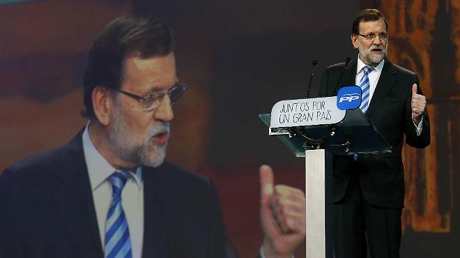 Rajoy supedita la recuperació d'Espanya a frenar Podem