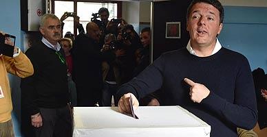 Renzi se juega su continuidad en el referéndum de Italia