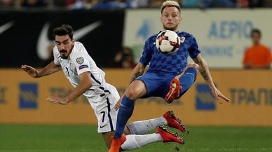 La Croàcia de Rakitic i Suïssa entren al Mundial