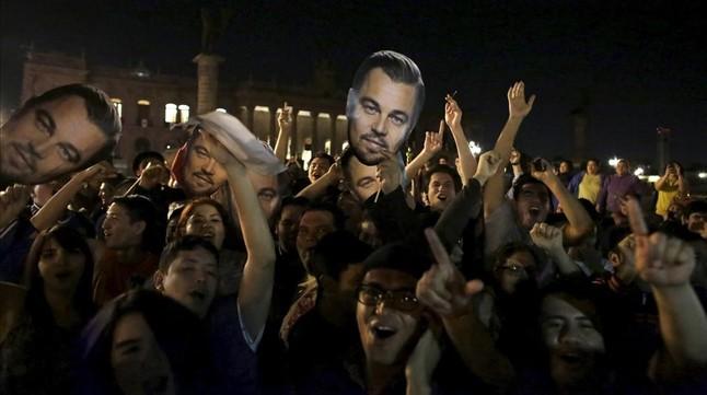 DiCaprio, el plan funcionó esta vez