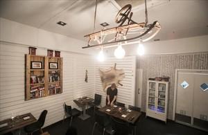 """Restaurante Pappa Sven. Lo llaman """"reducto nórdico""""."""