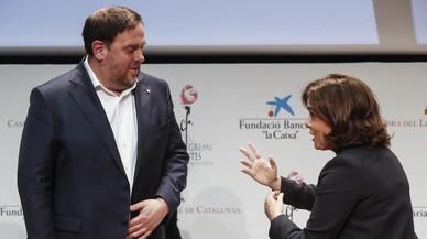 Junqueras va demanar sense èxit per escrit a Santamaría abordar el deute de l'Estat pels Mossos