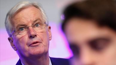 Barnier alerta de l'impacte comercial per al Regne Unit d'un 'brexit' sense acord
